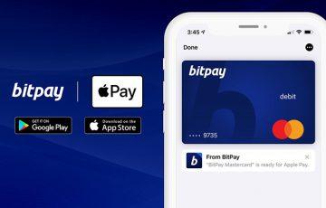 BitPayの仮想通貨プリペイドカード「Apple Pay」への登録・利用が可能に