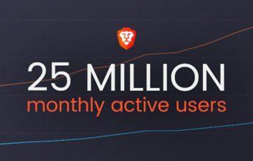 次世代ブラウザBrave:月間アクティブユーザー数が「2,540万人」に倍増