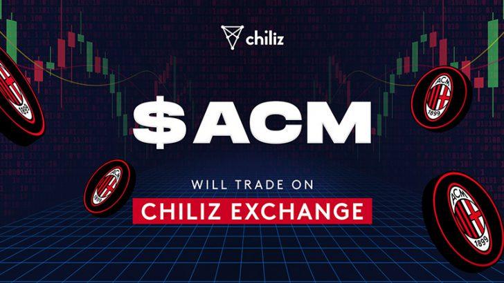 Chiliz Exchange:強豪サッカークラブ「ACミラン」の$ACMファントークン取扱いへ