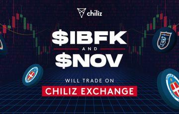 【Chiliz Exchange】2つのサッカー関連ファントークン「$NOV・$IBFK」取扱いへ