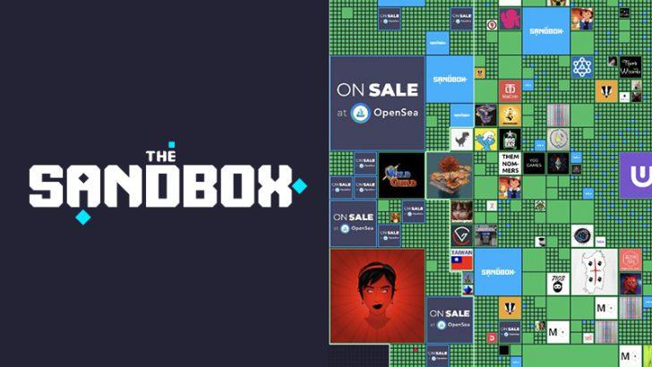 The Sandbox:1,078LANDが「わずか60秒未満」で完売|仮想土地の需要高まる