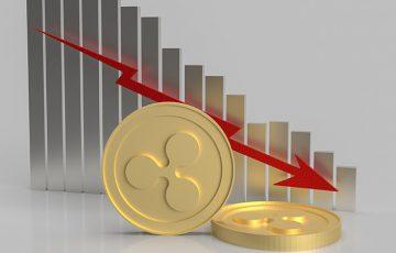 XRP価格「75円→35円まで暴落」ロングポジション数は大幅増加
