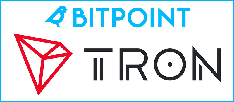 BITPointJapan-Tron-TRX-Listing