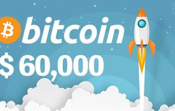 ビットコイン価格「60,000ドル」突破|BTC関連の注目ニュースもまとめて