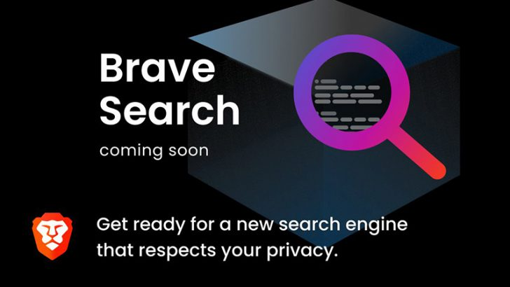 ブレイブ:プライバシー重視の検索エンジン「Brave Search」提供へ|Tailcatを買収
