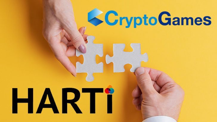 CryptoGames × HARTi「現代アーティストのNFT発行支援」に向け業務提携