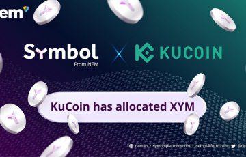KuCoin「シンボル(Symbol/XYM)の配布」を完了|明日上場との報告も