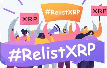XRP再上場求める「#RelistXRP」運動活発化|XRP価格は60円台まで回復