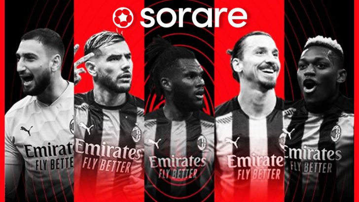 【Sorare】強豪サッカークラブ「AC Milan」のNFT選手カード販売開始