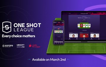 Ubisoft × Sorare:NFTカード用いたサッカーゲーム「One Shot League」を開発