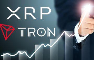 著名トレーダー:XRP・TRXに強気姿勢|トレンド転換で「垂直上げ」の可能性も?