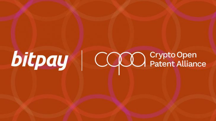 BitPay(ビットペイ)仮想通貨特許関連の非営利団体「COPA」に参加