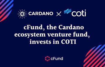 CardanoベンチャーファンドcFund:ADA Pay手掛ける「COTI」に投資