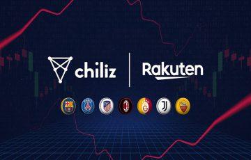 Chiliz関連ファントークン「楽天ポイント」と交換可能に|楽天ヨーロッパと提携