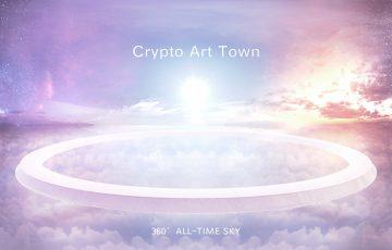 WebVR方式のNFTアート作品ミュージアム「CryptoArtTown」公開:グラコネ×withID