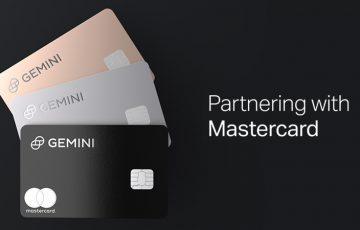 Gemini×マスターカード「仮想通貨報酬機能付きクレジットカード」発行へ