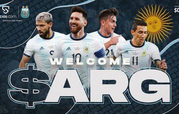 Chiliz&Socios:世界初「サッカーアルゼンチン代表」のファントークン($ARG)発行へ