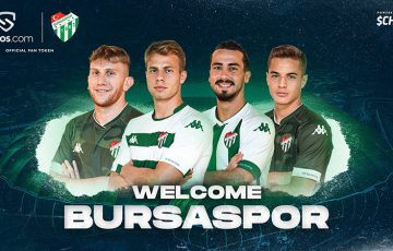 Chiliz&Socios:トルコのサッカークラブ「Bursaspor」の公式ファントークン発行へ