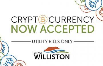 米ウィリストン市:仮想通貨決済で「公共料金の支払い」が可能に|BitPayと提携