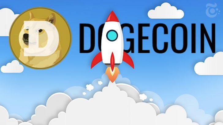 ドージコイン(DOGE)価格上昇「70円台」に突入|時価総額ランキング4位に