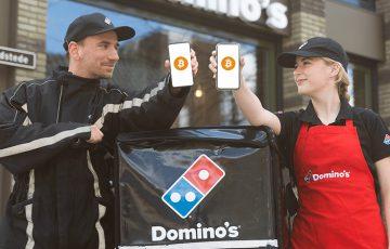 オランダのドミノ・ピザフランチャイズ「ビットコイン」で給料の受け取りが可能に