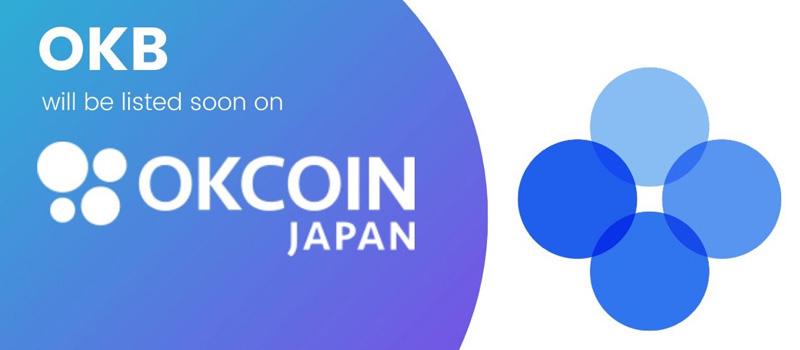 OKCoinJapan-Liskting-OKB