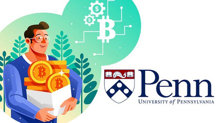 米名門ペンシルベニア大学:過去最高額「5億円相当のビットコイン寄付」受け取り