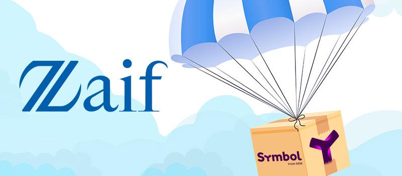 Zaif-Symbol-XYM-Distribution
