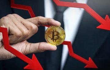 ビットコイン価格:一時的に「3万ドル」まで急落|仮想通貨全体で10〜50%の大幅下落