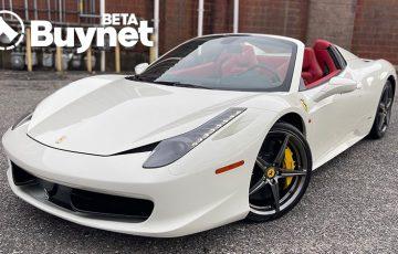 NFTマーケットプレイス「Buynet」公開|フェラーリ利用会員権のオークション開始
