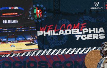 【Chiliz&Socios】NBA初「フィラデルフィア・セブンティシクサーズ」と提携