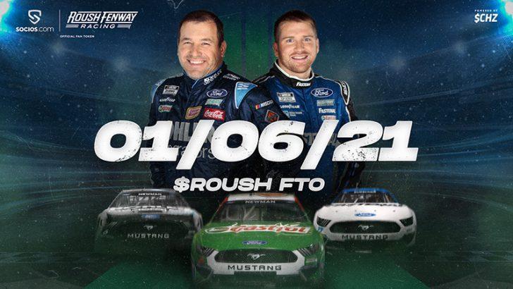 Chiliz&Socios「Roush Fenway Racing」の公式ファントークン販売日時を発表