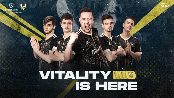Chiliz:フランスの強豪eスポーツチーム「Team Vitality」と提携|$VITトークン発行へ