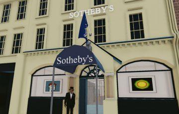 Decentraland:仮想空間上で「Sotheby'sのバーチャルギャラリー」公開