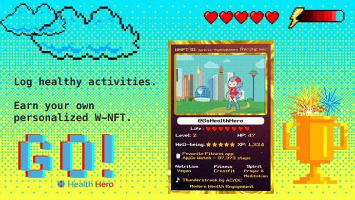 Enjin × Health Hero「NFT活用したウェルネスプログラム」を発表