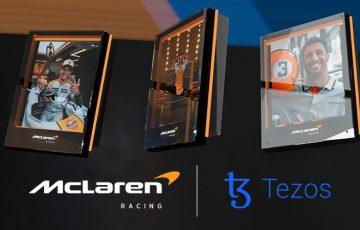 McLaren Racing:テゾス(Tezos/XTZ)と提携して「NFTプラットフォーム」構築へ