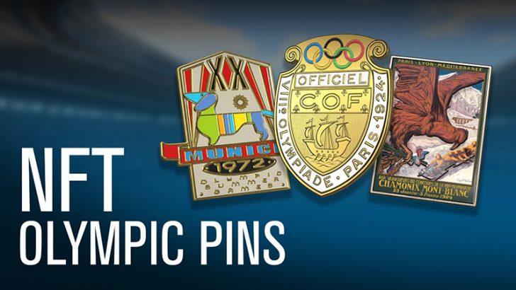 オリンピック公式認定された「NFTピンバッジ」発売へ:IOC × nWay