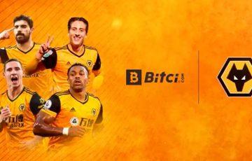 プレミアリーグ加盟のウルブス「Bitci.com」と提携|公式ファントークン発行へ