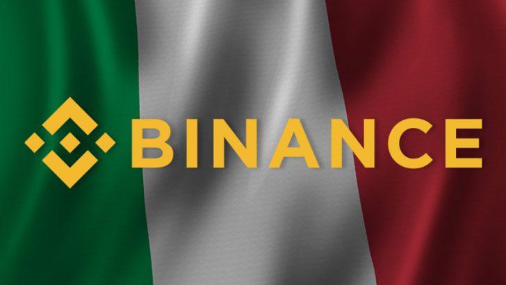 イタリア国家証券委員会「BINANCE」について一般投資家に警告