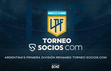 【歴史上初】アルゼンチン国内トップリーグ「Torneo Socios.com」に名称変更