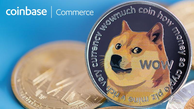 Coinbase Commerce「ドージコイン(DOGE)」をサポート|合計7銘柄に対応