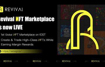 IOST基盤のNFTマーケットプレイス「Revival」公開|簡単4ステップでNFT作成も可能