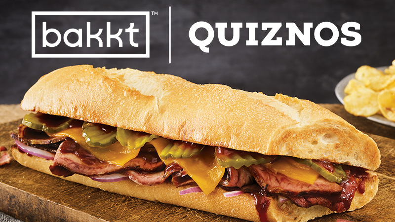 Bakkt:米サンドイッチチェーン「Quiznos」でビットコイン決済試験導入