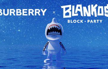 Burberry:ブロックチェーンゲーム「Blankos Block Party」でNFTコレクション発売へ