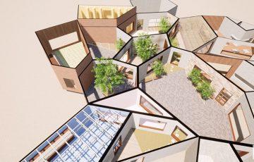 空間が自然増殖する建築NFT「CELLSPACE(セルスペース)」オークション販売開始