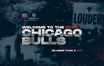 Chiliz&Socios:NBA所属のバスケチーム「Chicago Bulls(シカゴ・ブルズ)」と提携
