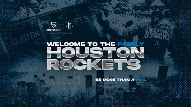 Chiliz&Socios:NBAチーム「Houston Rockets(ヒューストン・ロケッツ)」と提携