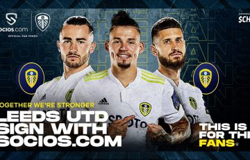 Chiliz&Socios:プレミアリーグ所属「Leeds United FC」提携|$LUFCファントークン発行へ