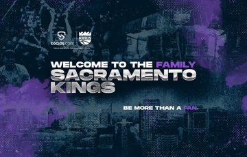 Socios.com:NBA所属チーム「Sacramento Kings」とマーケティング提携