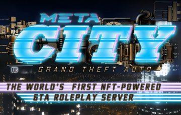 Enjin基盤のMyMetaverse:NFT活用したGTAサーバー「META CITY:Grand Theft Auto」構築へ
